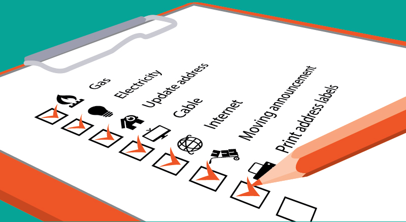 Verhuizen checklist een zorgeloze verhuizing in 10 stappen for Checklist verhuizen